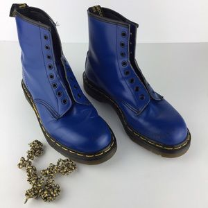 Dr.Martens 1460 Blue Color Boot Made in England